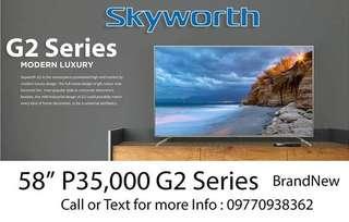 Skyworth Tv andriod 4kultra