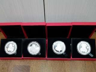 福禄壽财 platinum gold