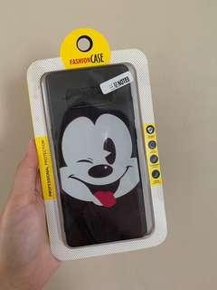BN Samsung note 8 mickey casing (rubber)