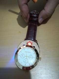 電子火機手錶