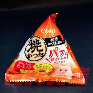 新品 CIAO 鰹魚味 小粒貓餅零食 貓糧 貓食品