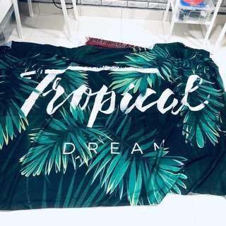 Wall Mandala Tapestry Tropical Dream