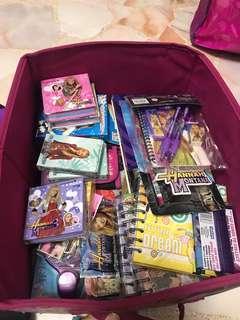 Gift box Hannah Montana Book File Stationery Card