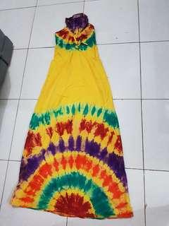 Dress panjang batik