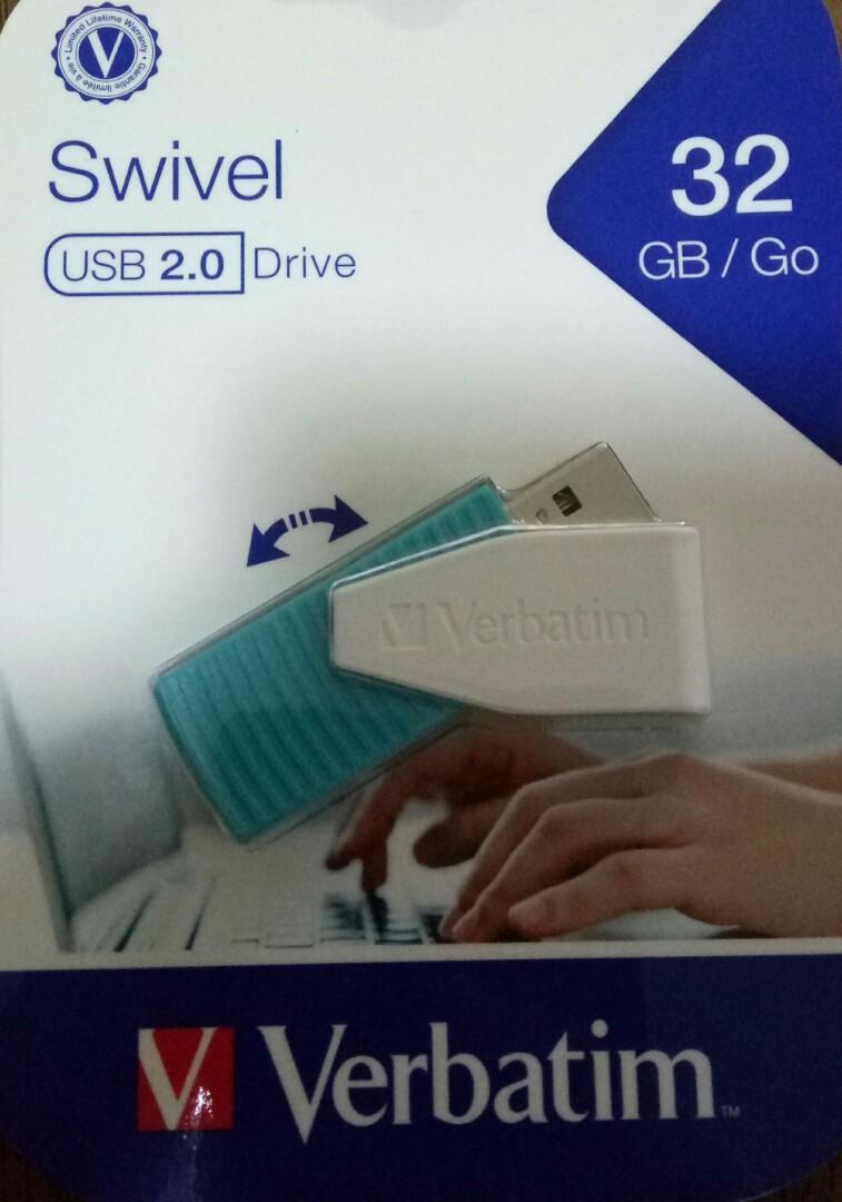 包平郵 全新 未開封 大量現貨 如買少量請勿議價  包郵 全新 Verbatim 32G 32GB USB thumb drive  手指