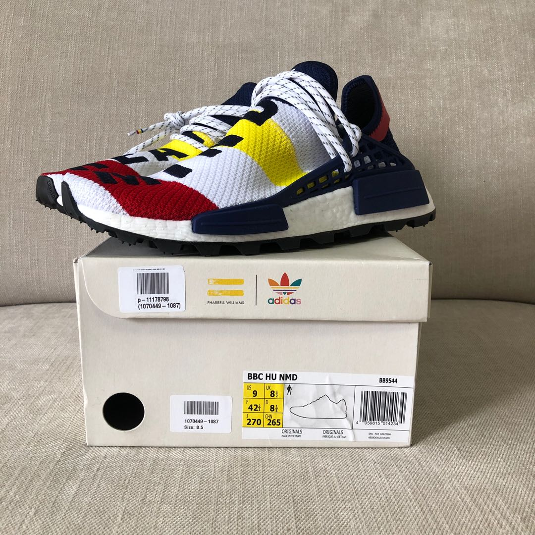 info for 086a6 75995 Adidas NMD HU BBC US9