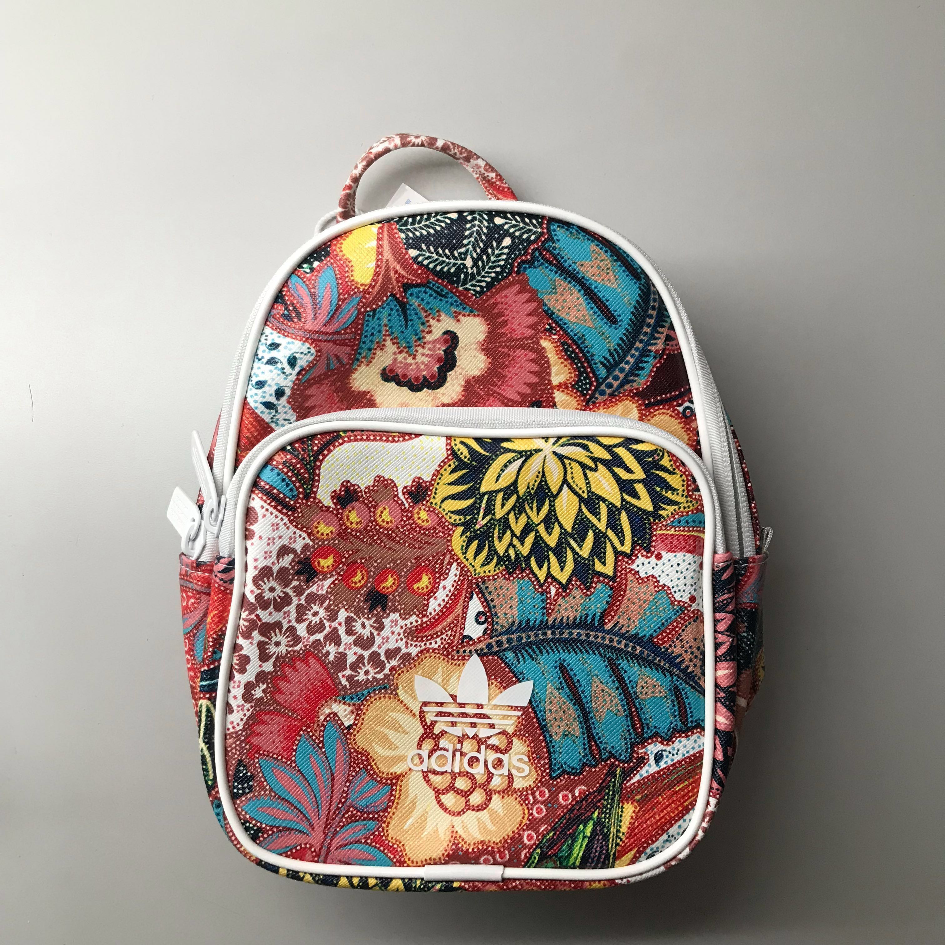 Adidas Originals Mini Farm Print Backpack In Bright Floral, Women s  Fashion, Bags   Wallets, Backpacks on Carousell 6c48752344