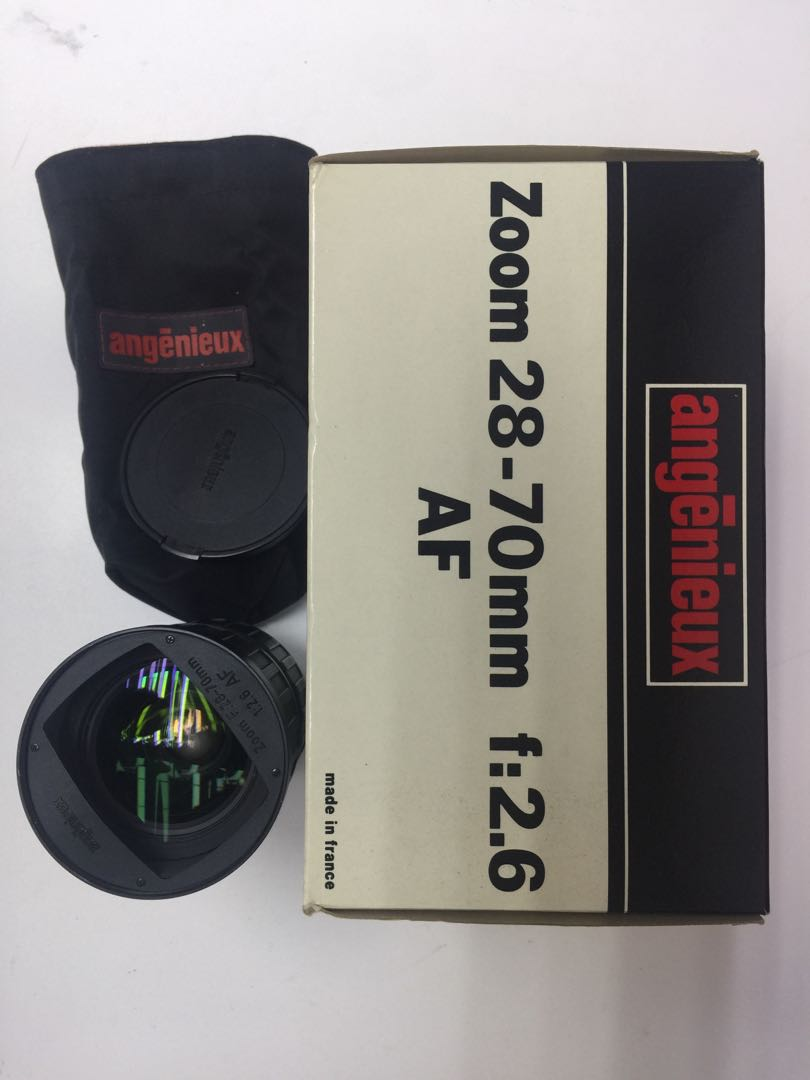 Angenieux 28-70mm f2.6 nikon mount 愛展能