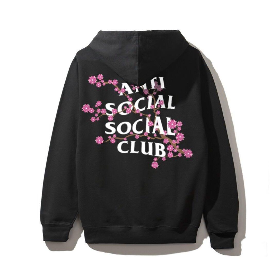 d6fbbf472d2b Anti Social Social Club Cherry Blossom Hoodie