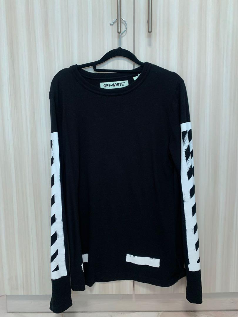 Authentic offwhite long sleeve