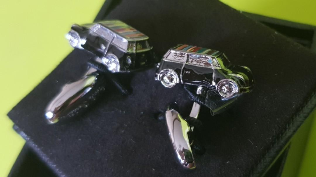 Authentic Paul Smith Mini Cooper Cufflinks