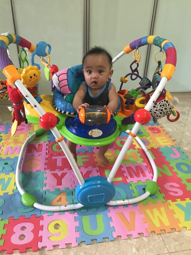 63d2076b134a Baby Einstein Baby Jumperoo Bouncer