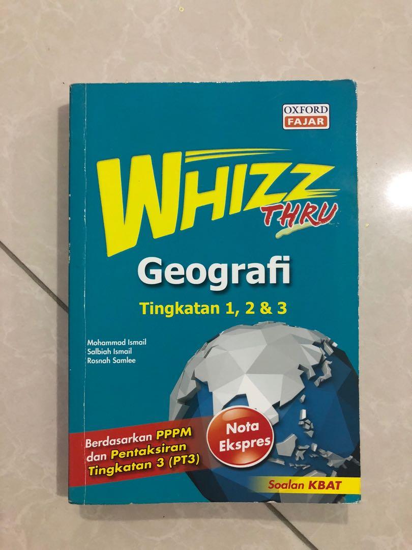 Buku Rujukan Geografi Pt3 Textbooks On Carousell
