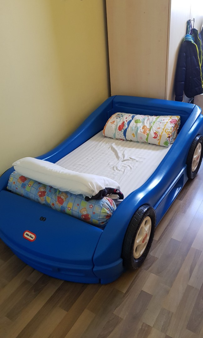 2 Beds Car Bed And Fire Engine Bed Babies Kids Cots Cribs On