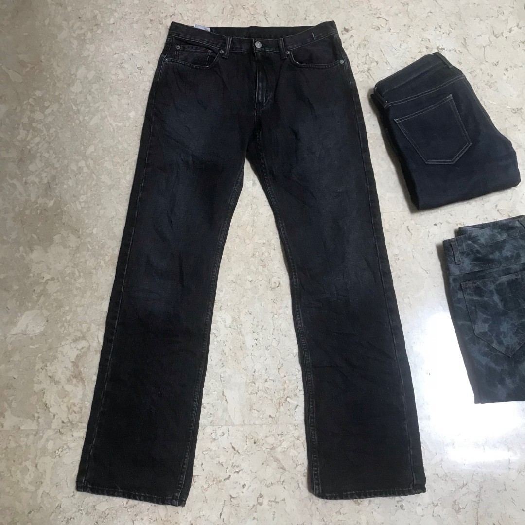 508c1559375 Celana Jeans Levis Black Made In Haiti Original Preloved, Men's Fashion,  Men's Clothes, Bottoms on Carousell