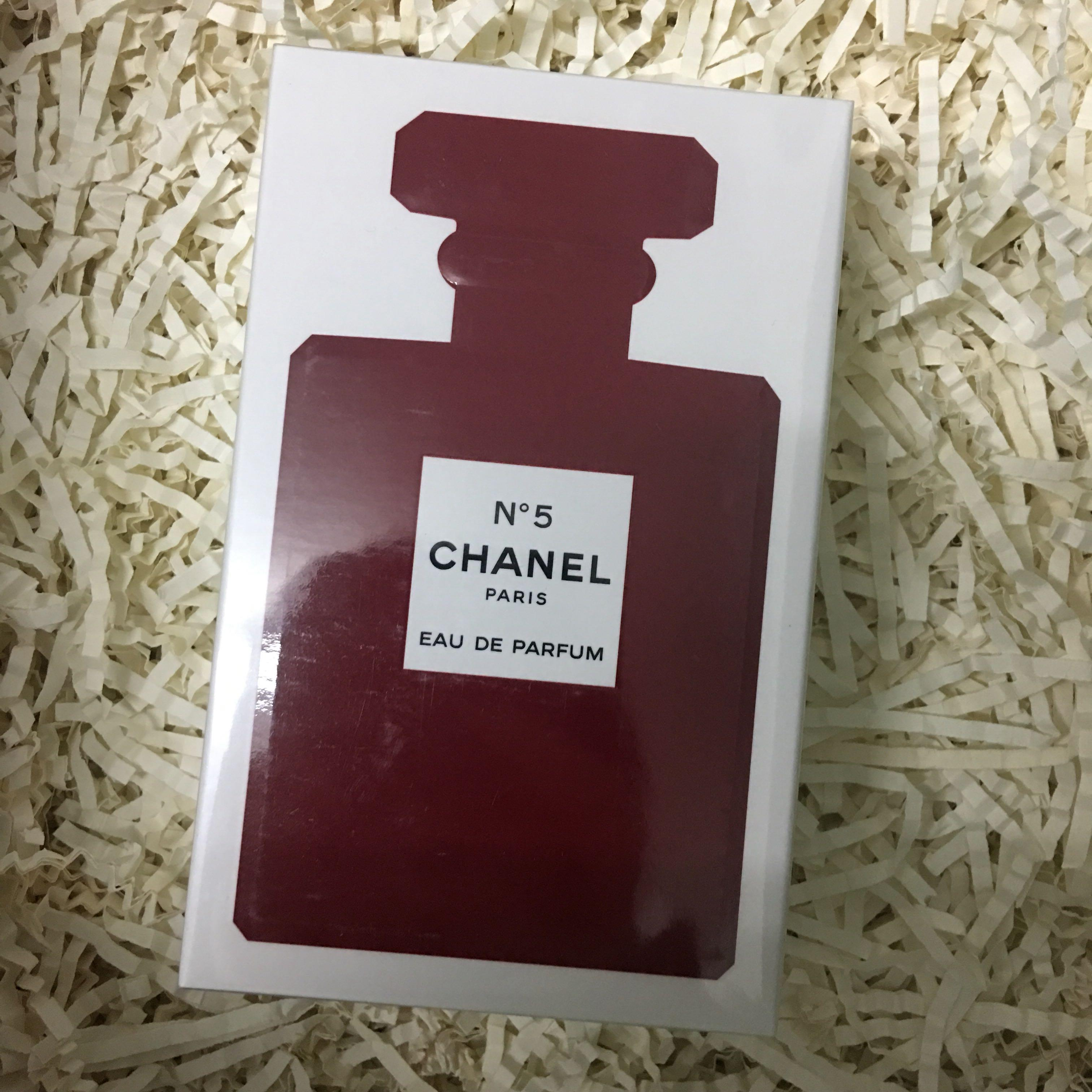 11880e4f Chanel no 5 EDP red limited edition Perfume, Health & Beauty ...