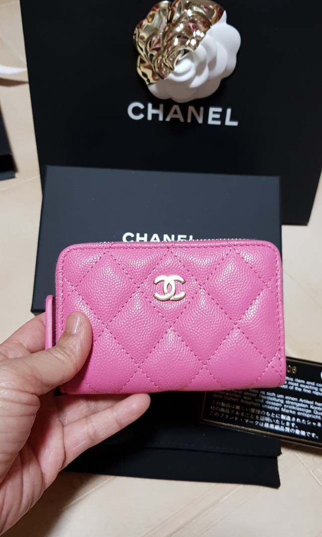 e72b36e8a792 Chanel Wallet/O coin Purse, Luxury, Bags & Wallets, Wallets on Carousell