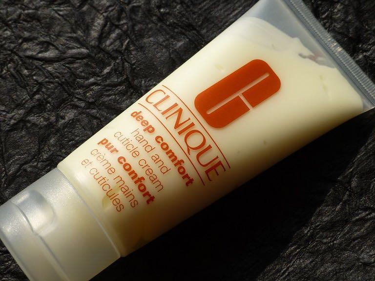 Image result for Clinique Deep Comfort hand and Cuticle Cream Review
