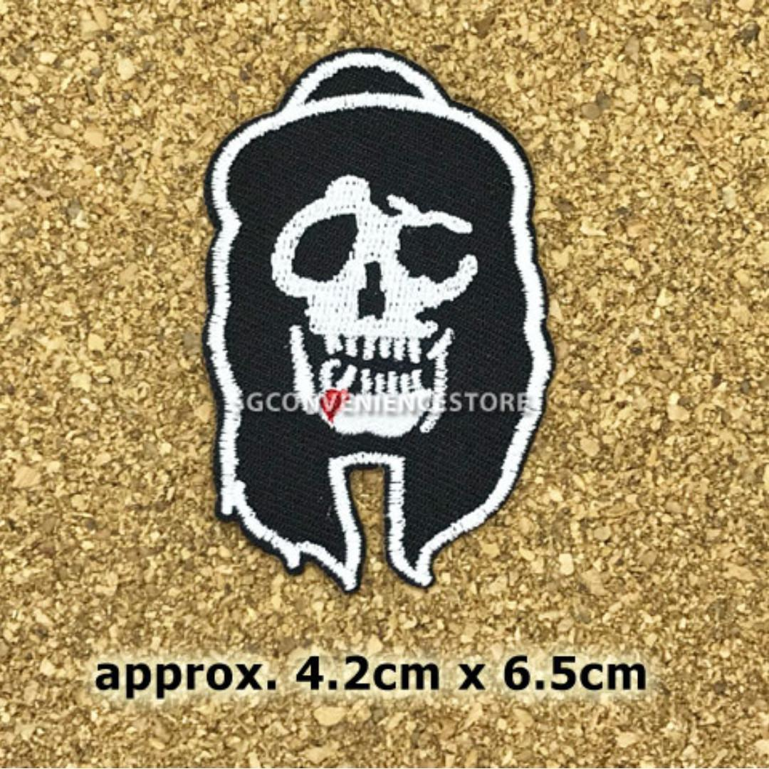 DIY Embroidery Iron On Patch Hard Rock Heavy Metal Band