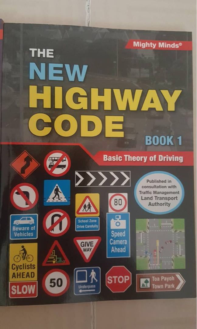 Driving Books- New Highway Code Book 1 & Basic Theory Driving Test 480 Q&A