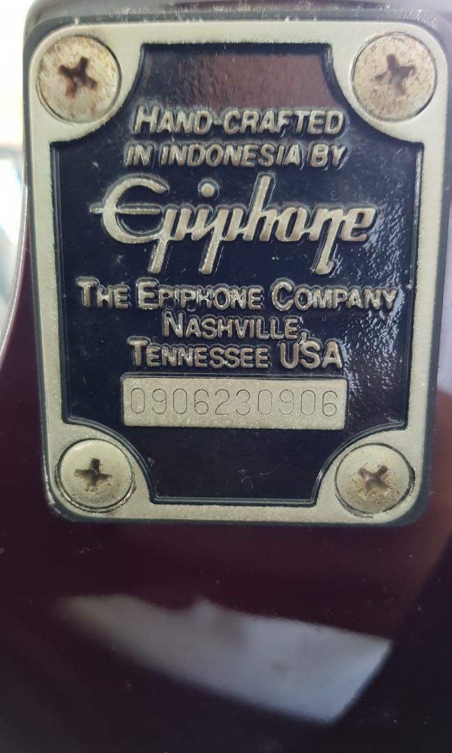 Epiphone Les Paul 100 set