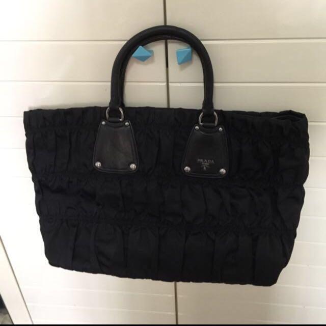 512d008a12e3 Fast deal  250. Authentic Prada Bag.