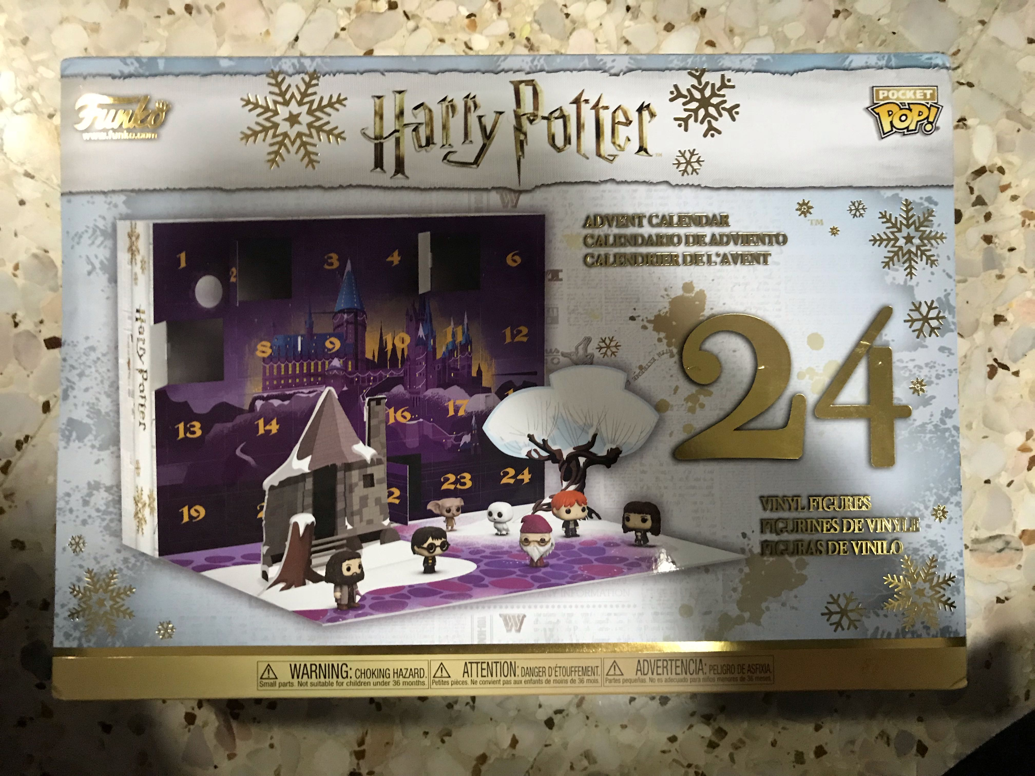 Calendrier De Lavent Harry Potter Funko Pop.Funko Pop Harry Potter Advent Toys Games Others On Carousell