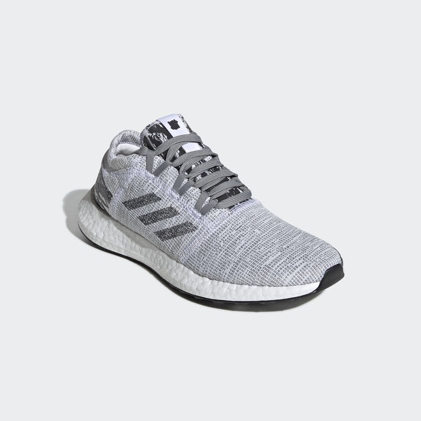 Guaranteed Authentic New Adidas x Undefeated Pureboost go shoe in core  black colourway limited edition d7655ddf0