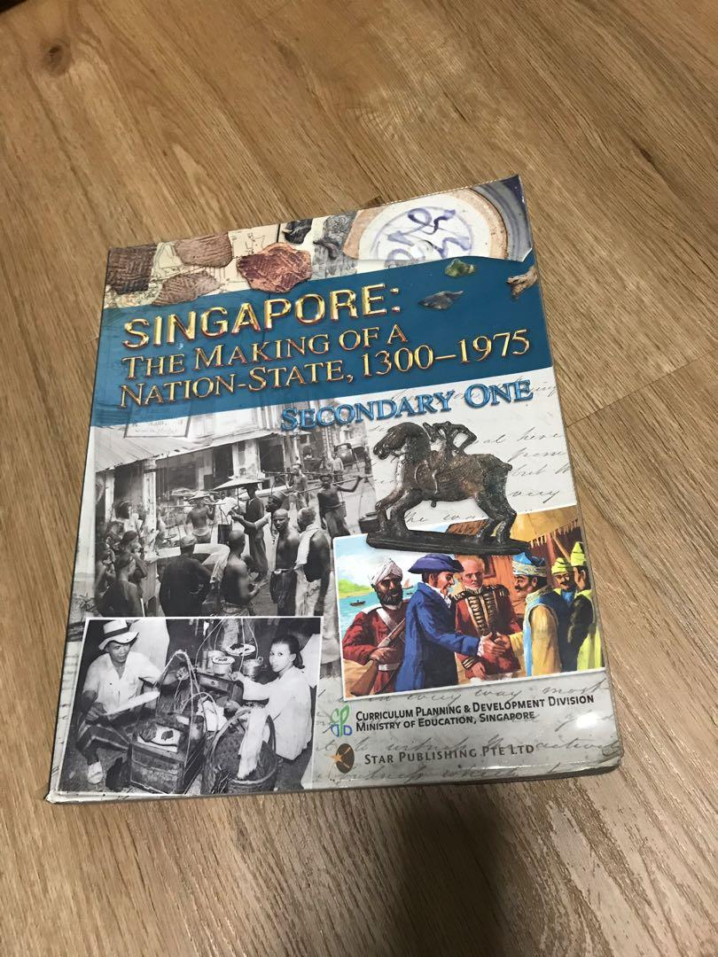 History Textbook for Secondary One
