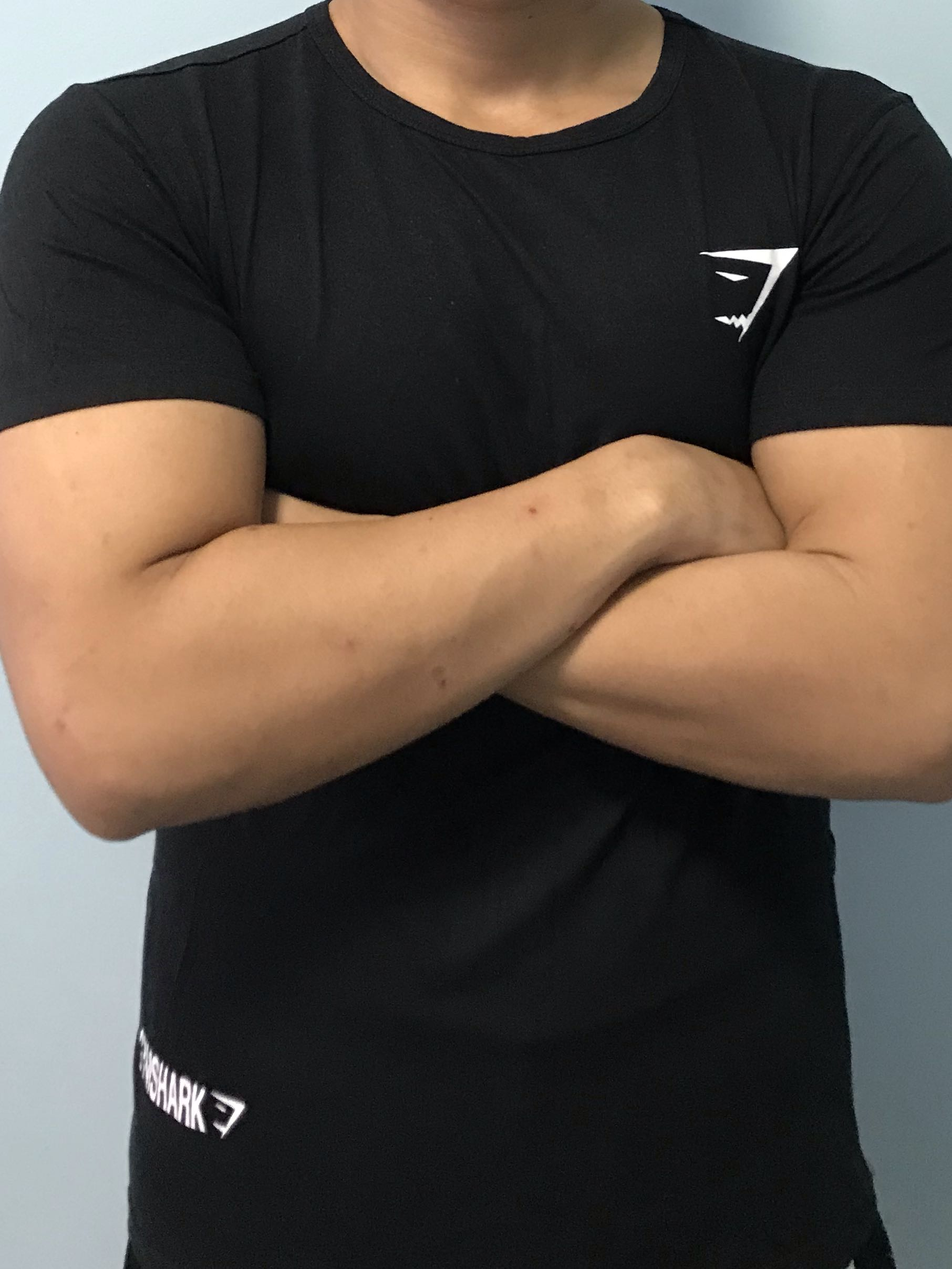 3c6f3d1e Inspired gymshark t-shirt, Sports, Sports Apparel on Carousell