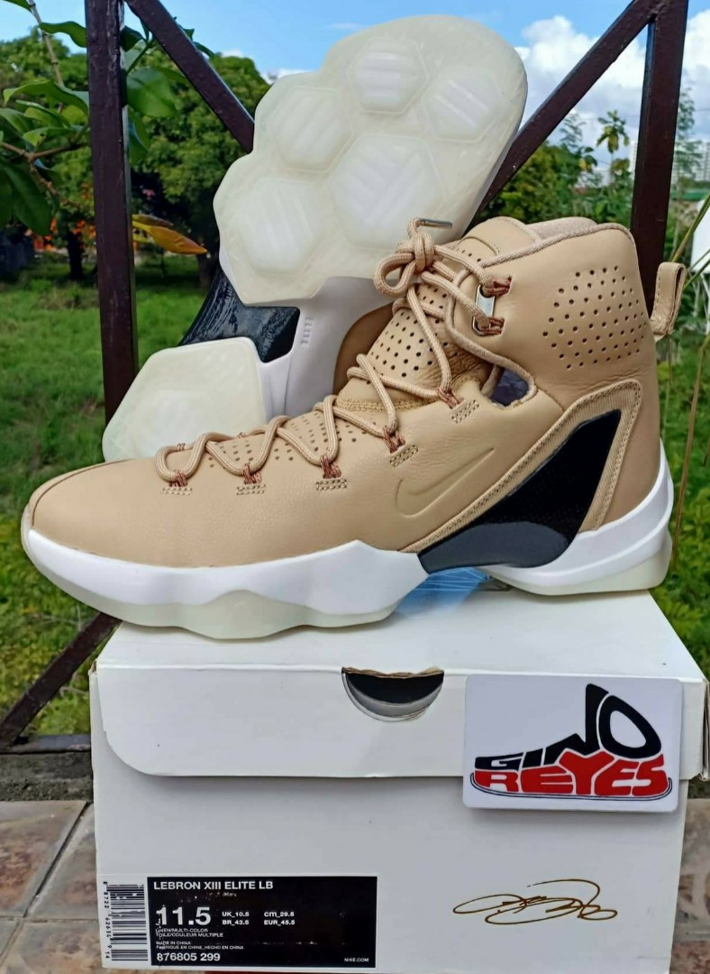 outlet store ba5dd cce31 Lebron 13 Elite LB  Linen  Size11.5US BrandNew Basketball Shoes ...