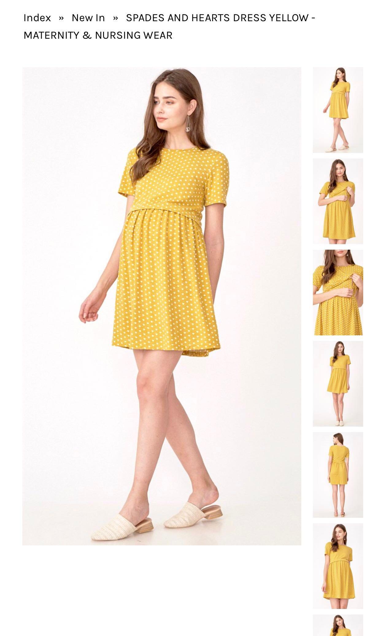 db050c070 Maternity Dress Dear Collective