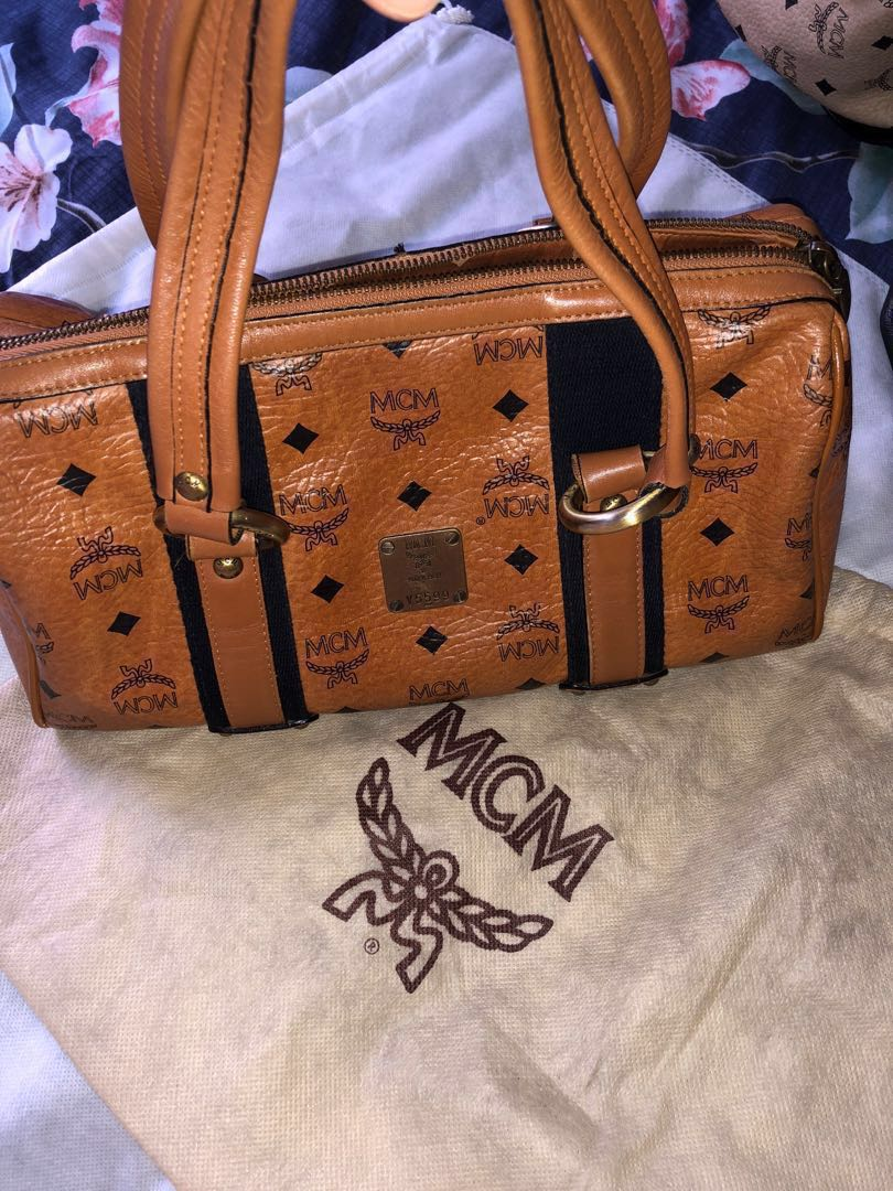 5a67391d7c25 Mcm Authentic bag, Luxury, Bags & Wallets, Handbags on Carousell