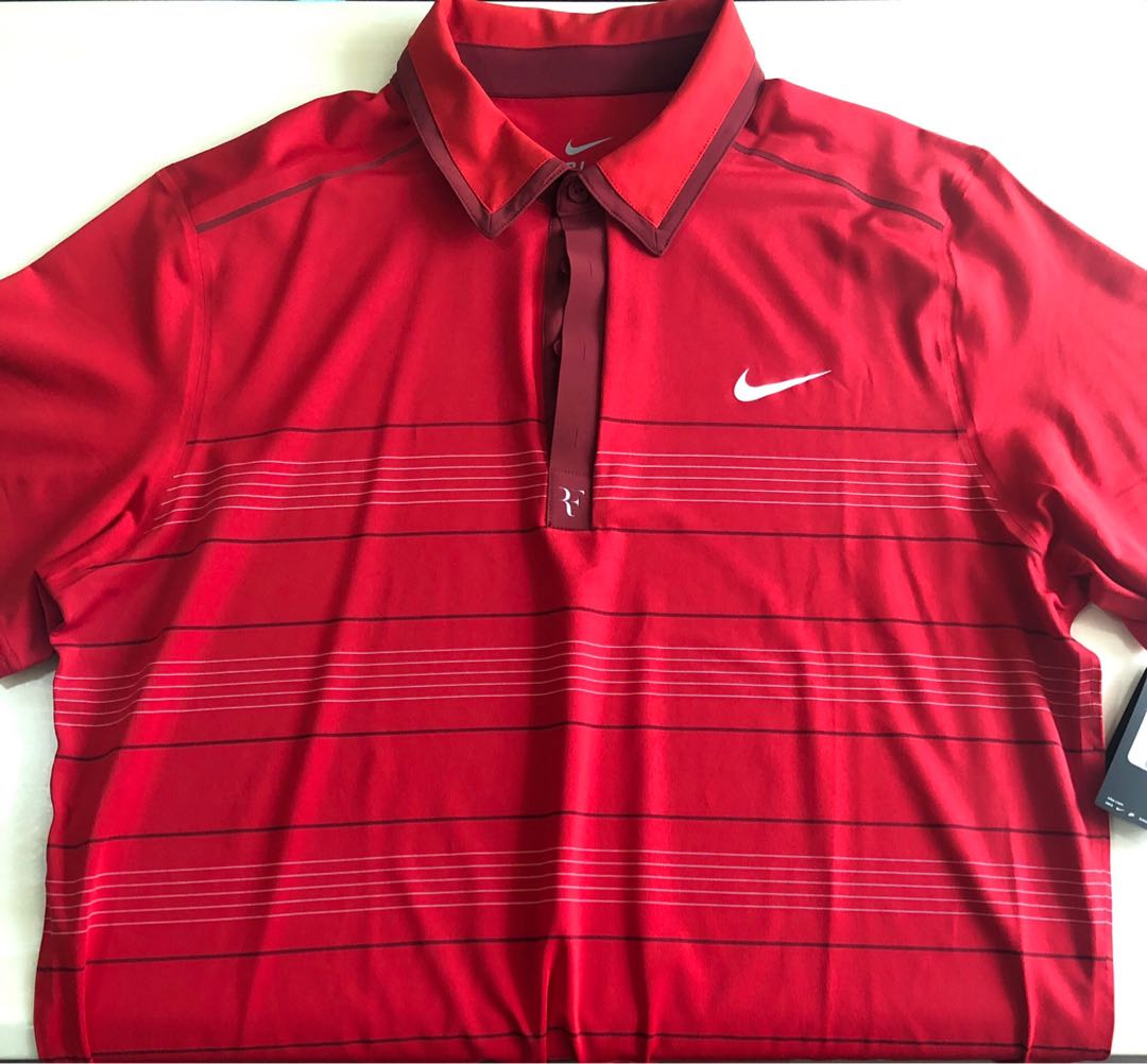 e289e0a0 Mens Nike Tennis shirt, Sports, Sports Apparel on Carousell