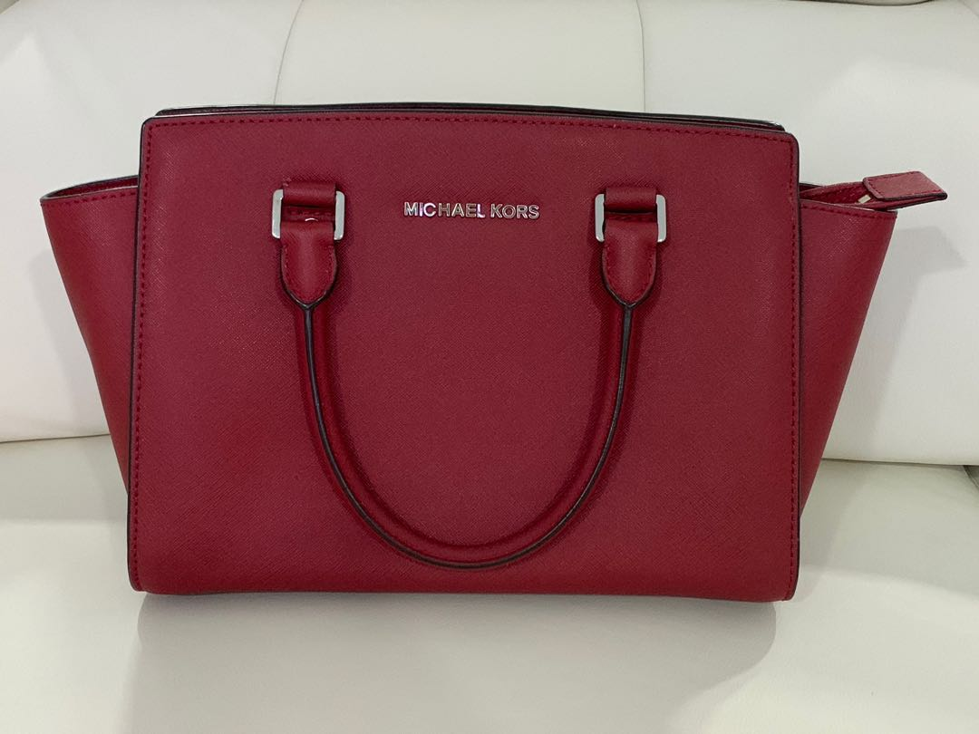 43663ccff903f7 Michael Kors Selma Medium, Women's Fashion, Bags & Wallets, Handbags ...