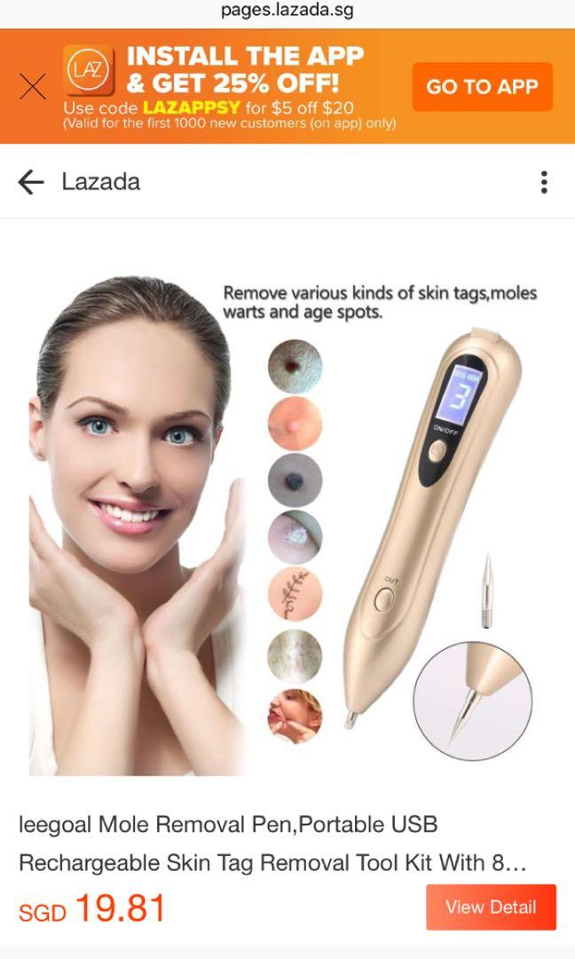 Mole Removal Pen Health Beauty Face Skin Care On Carousell