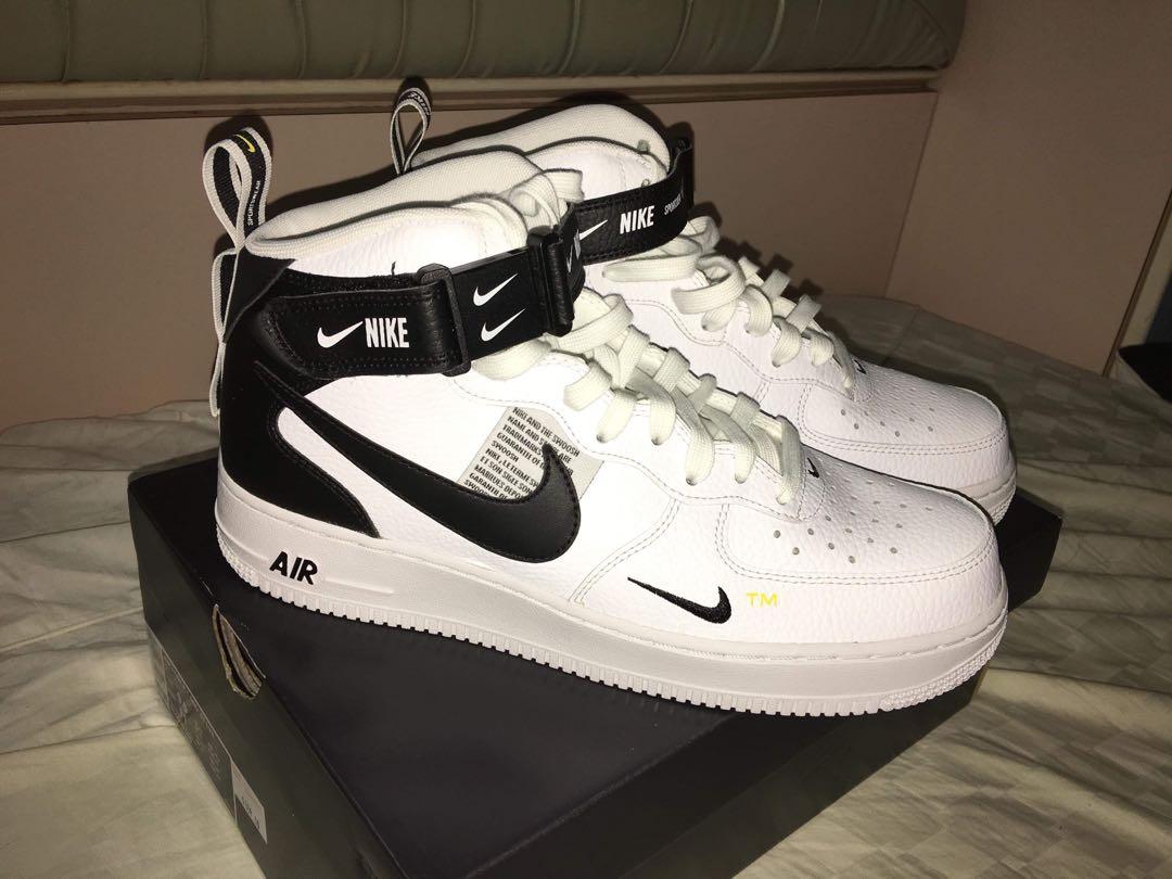 f6fad7b43c Nike Air Force 1 mid '07 LV8, Men's Fashion, Footwear, Sneakers on ...