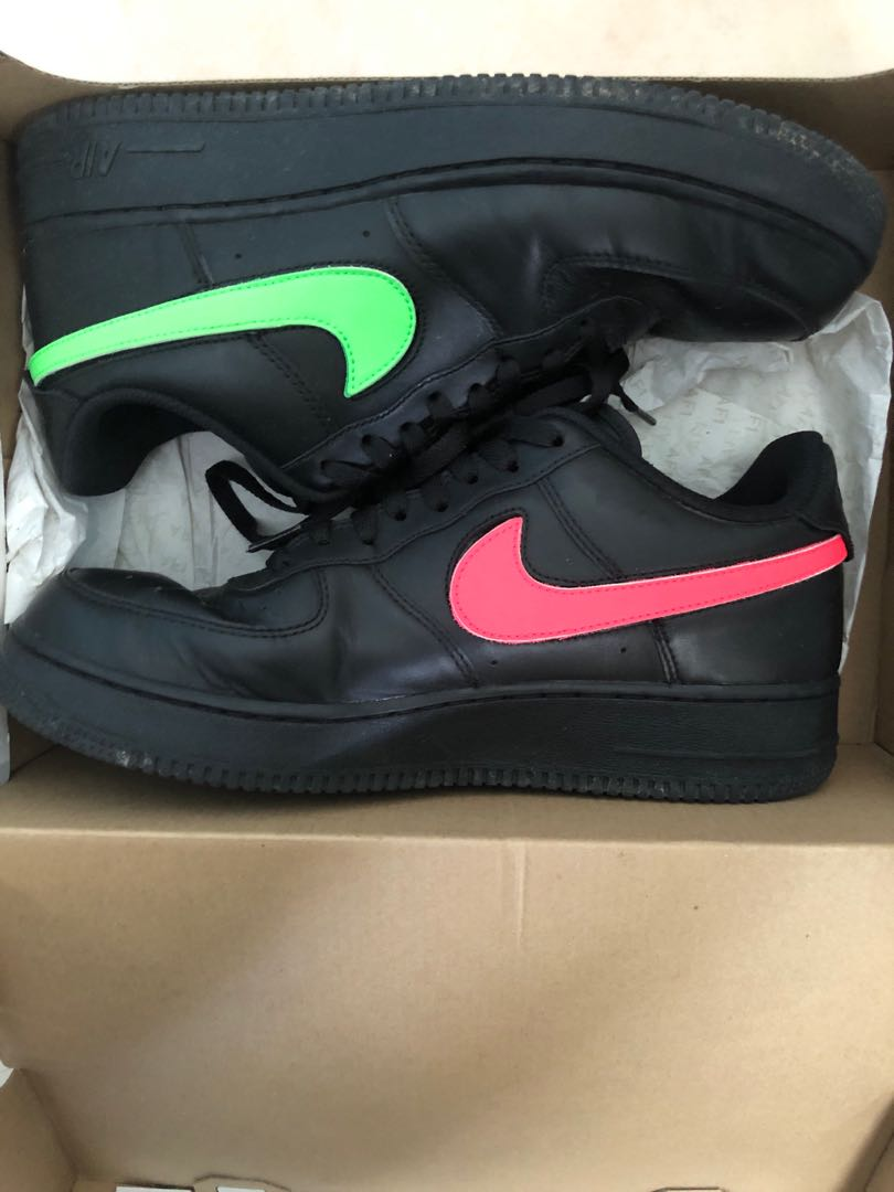 ac73cf29de34a Nike Air Force 1 Removable Swoosh, Men's Fashion, Footwear, Sneakers ...
