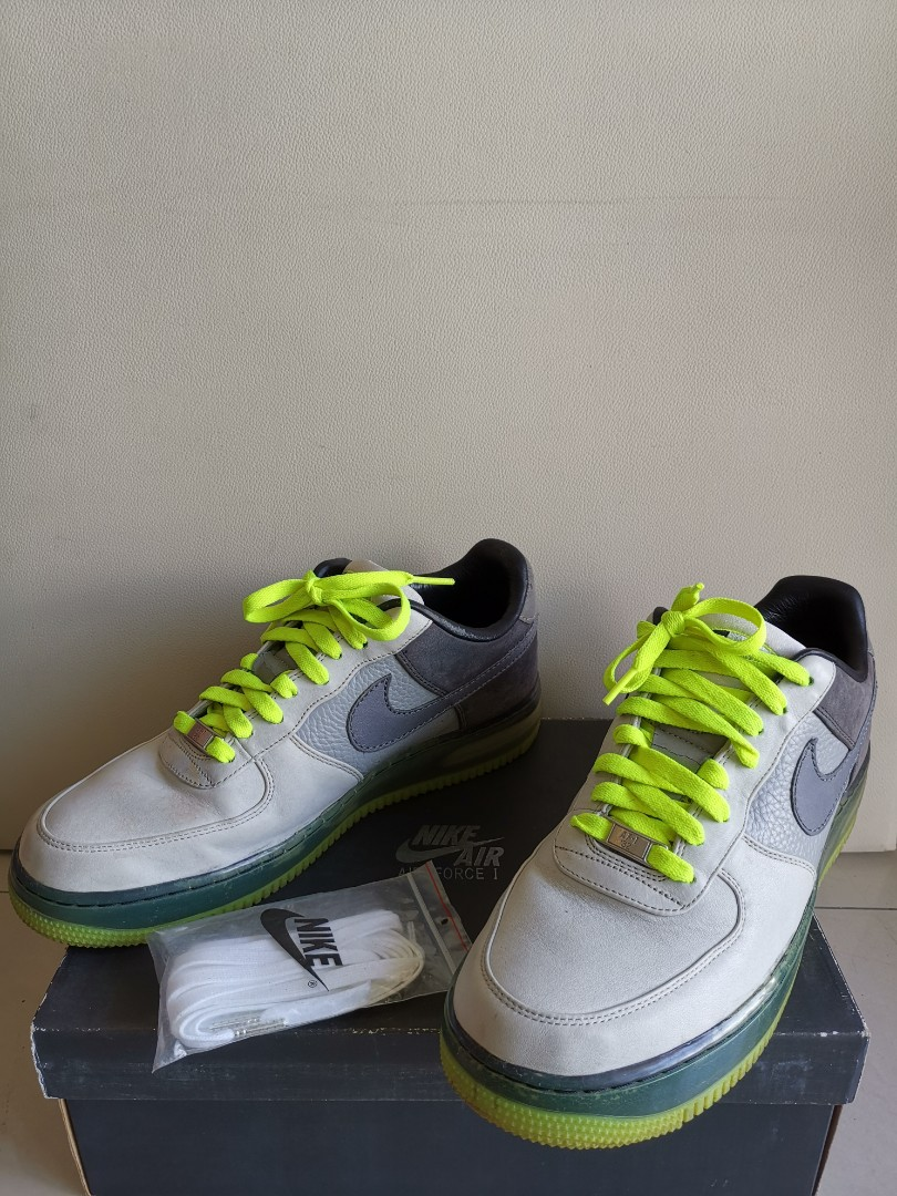 6f29f62fd8 Nike Air Force 1 Supreme Max Air Full Leather, Fesyen Lelaki, Kasut ...