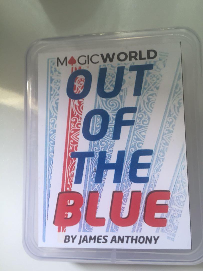 by James Anthony /& MagicWorld Out Of The Blue Gimmicks and Online Instructions