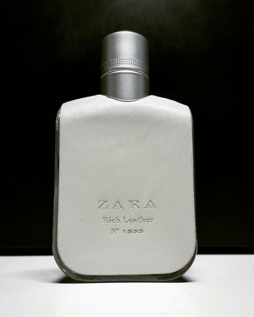 Parfum Zara Rich Leather No 1555 For Man Original Non Box Health