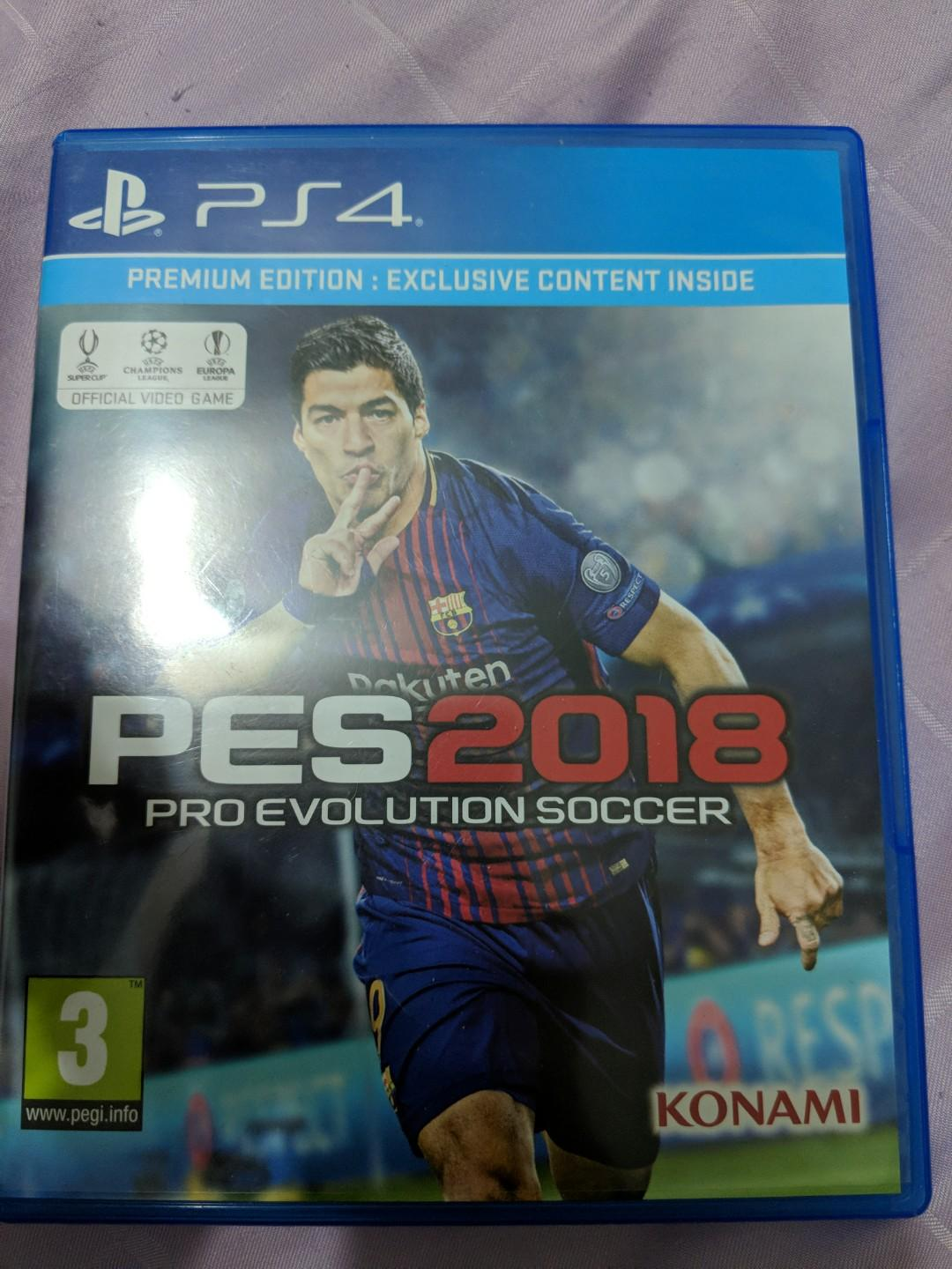 PES 2018 ps4, Toys & Games, Video Gaming, Video Games on