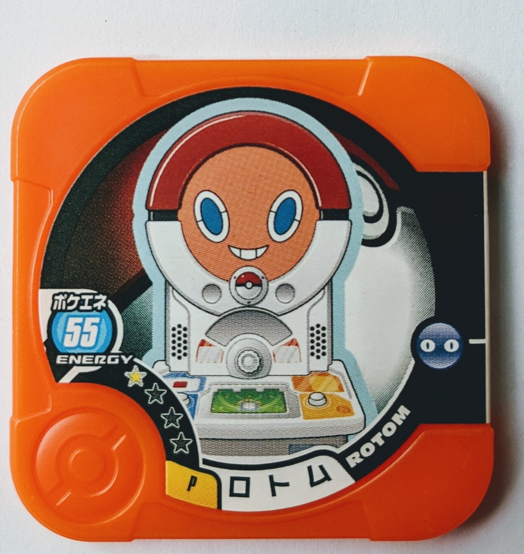 Pokemon Tretta - Rotom, Toys & Games, Others on Carousell