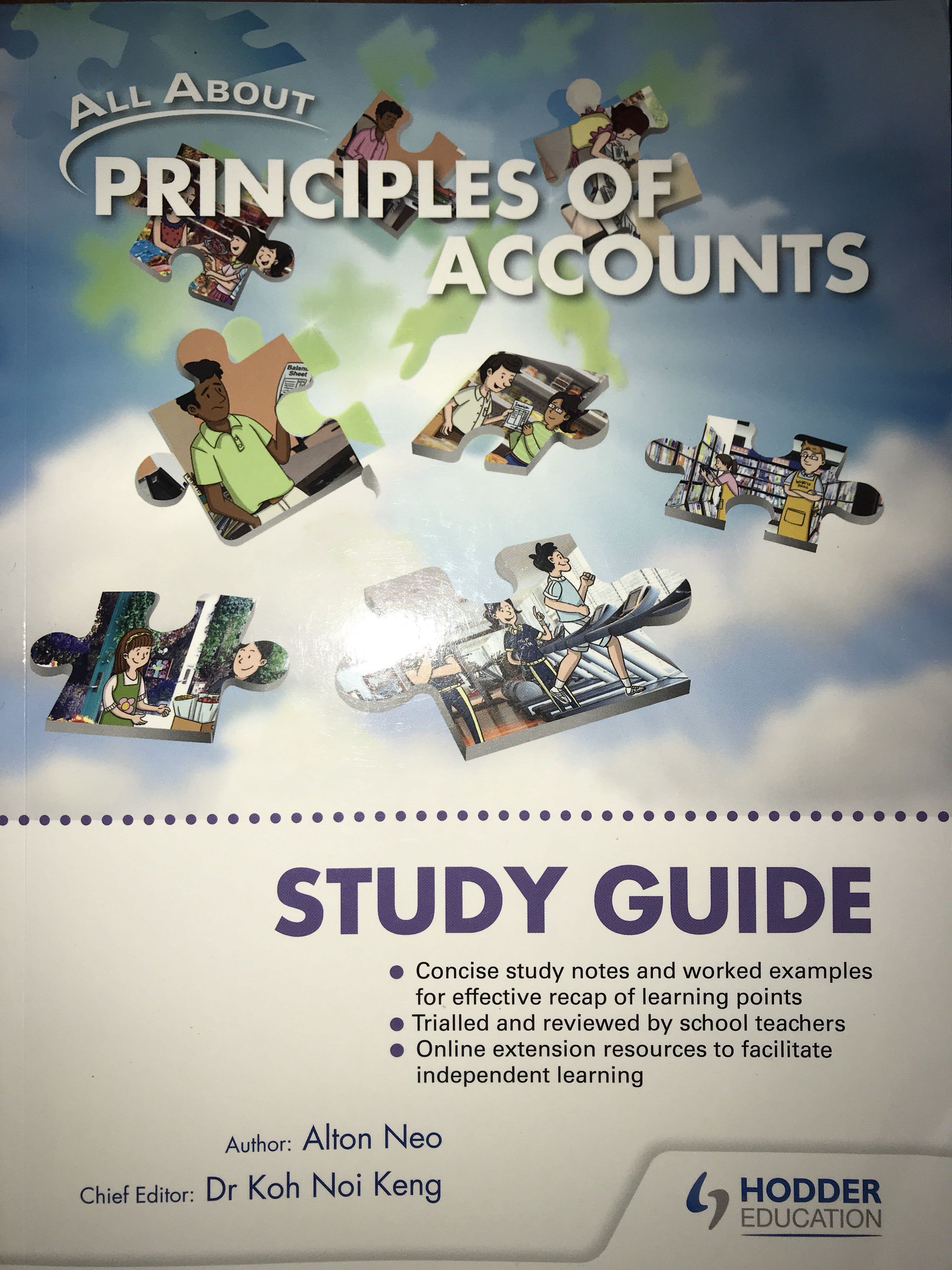 Principles Of Accounts Study Guide