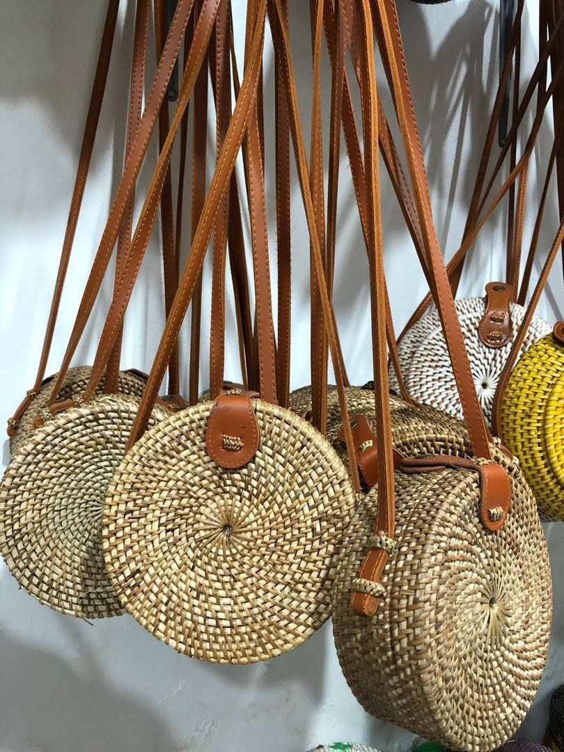 Rattan Bali Bags Women S Fashion Bags Wallets Sling Bags On
