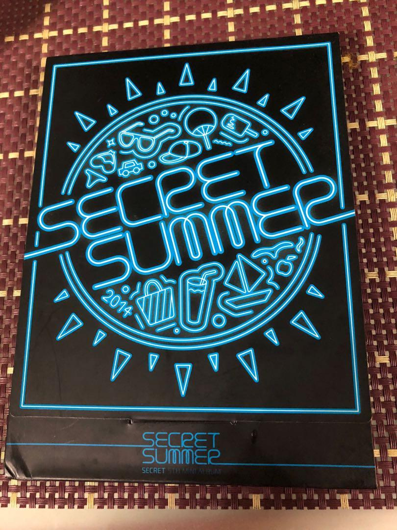 Secret Signed Secret Summer Album