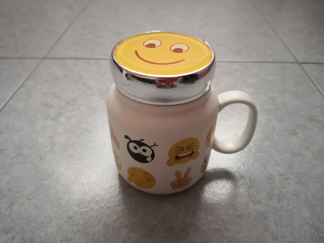 d2c065174d2 Smiley thermal mug with lid