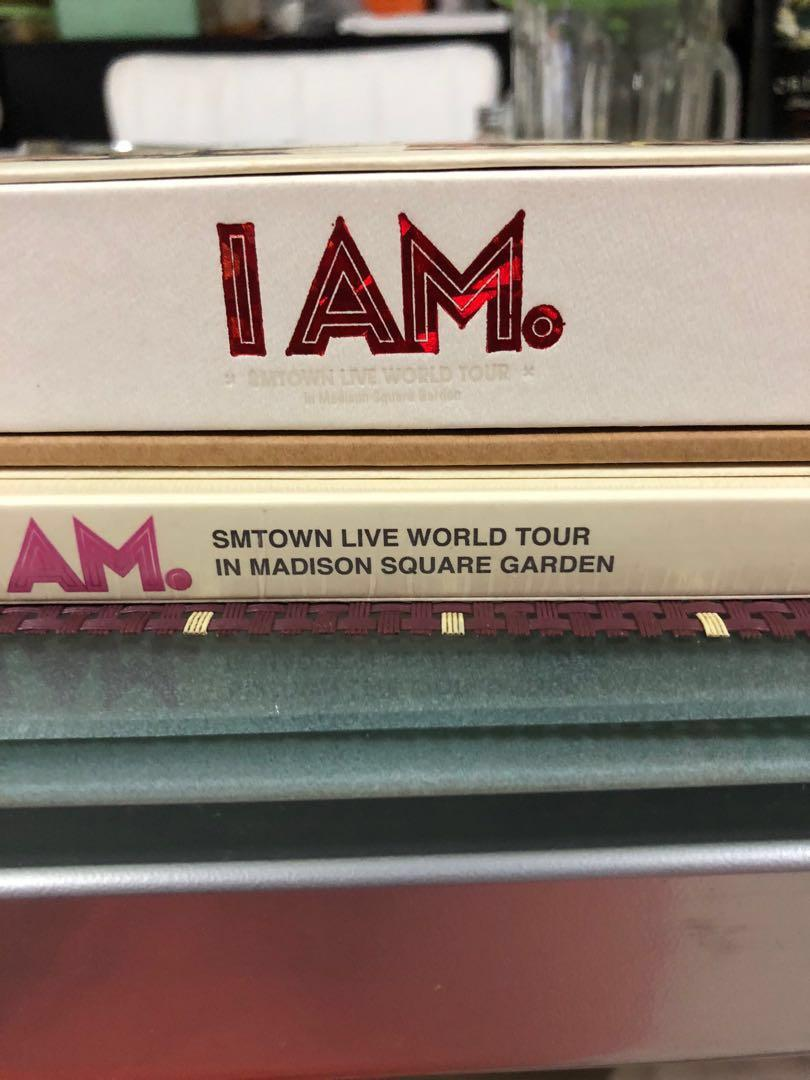 SMTown I Am DVD Set (DVD or DVD+Photobook)