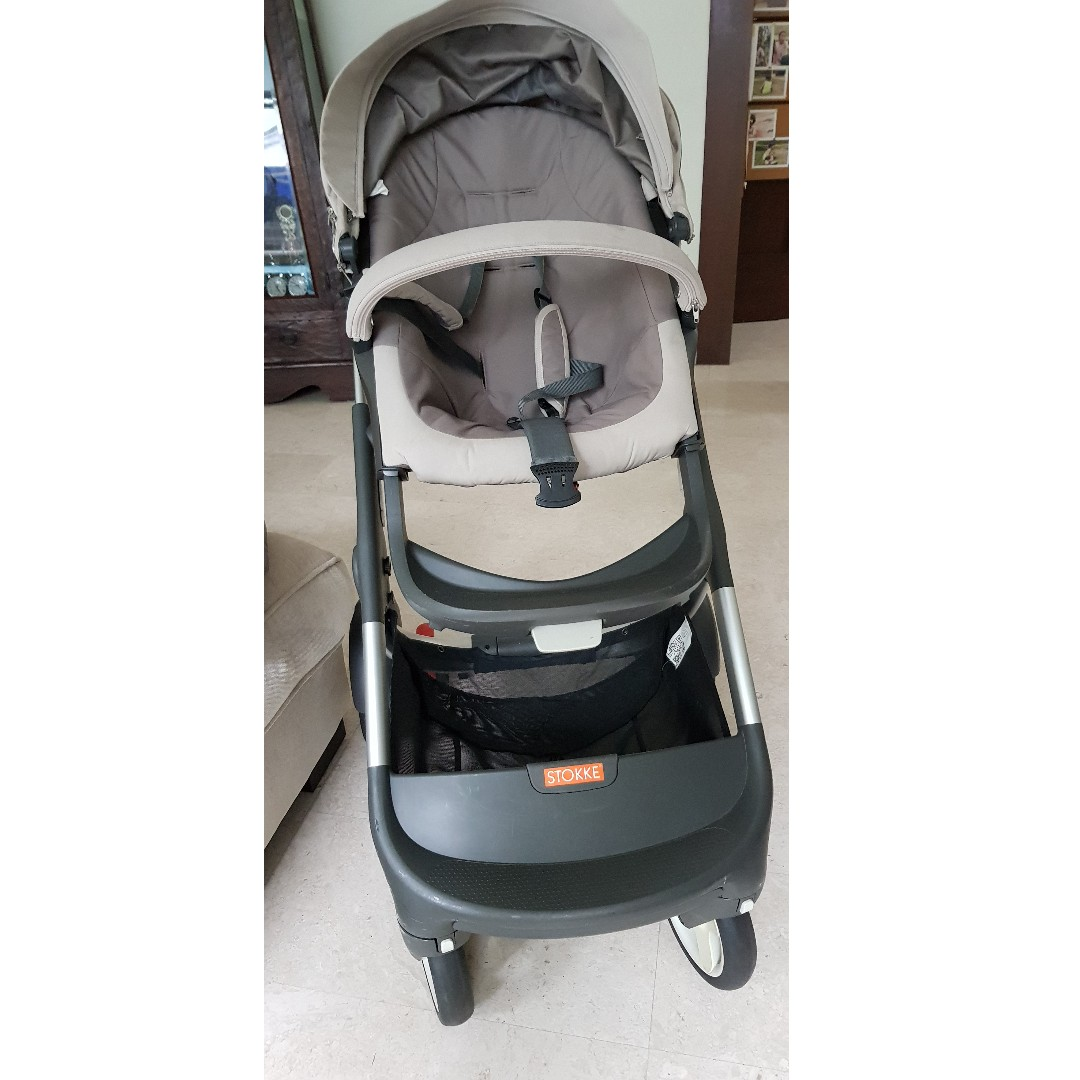 Stokke Crusi Stroller With Brand New Accessories