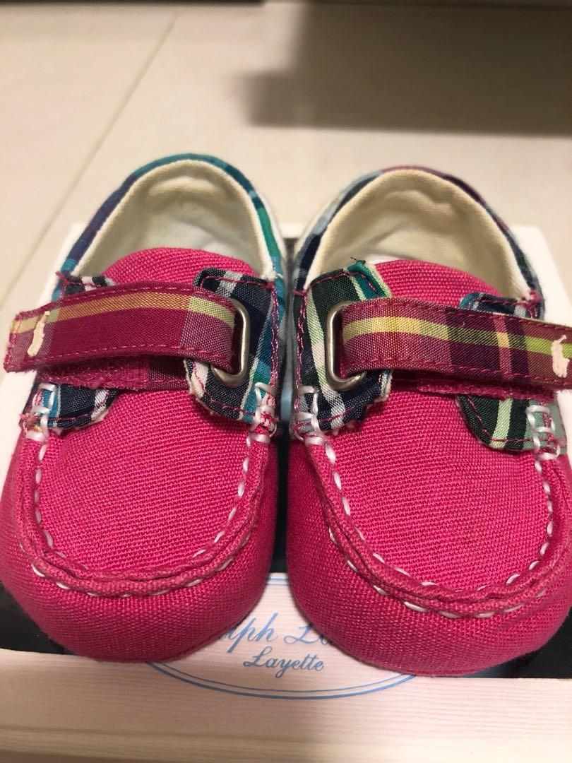 f594c2528d Super adorable Polo Ralph Lauren Baby girl shoes, Babies & Kids ...